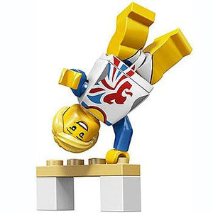 Flexible Gymnast - Series Olympic Team GB LEGO Minifigure (2012)