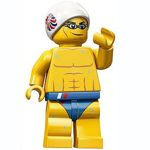 Stealth Swimmer - Series Olympic Team GB LEGO Minifigure (2012)