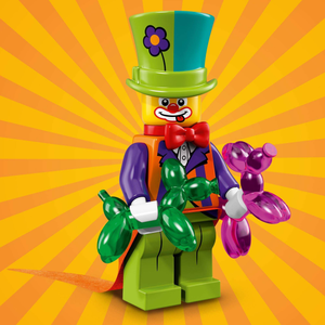 Party Clown - Series 18 LEGO Minifigure (2018)