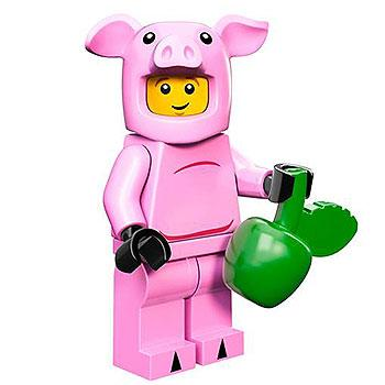 Piggy Guy - Series 12 LEGO Minifigure (2014)
