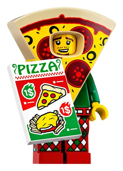 Pizza Costume Guy - Series 19 LEGO Minifigure (2019)
