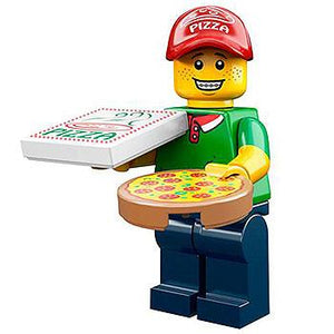 Pizza Delivery Man - Series 12 LEGO Minifigure (2014)