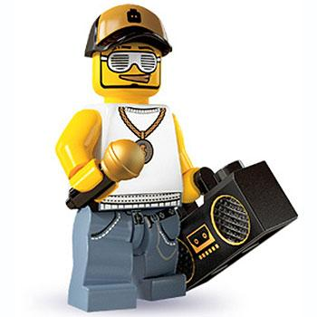 Rapper - Series 3 LEGO Minifigure (2011)