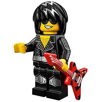 Rock Star - Series 12 LEGO Minifigure (2014)