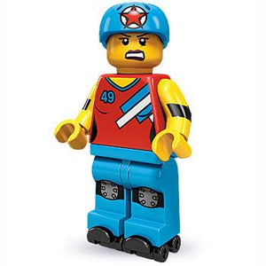 Roller Derby Girl - Series 9 LEGO Minifigure (2013)