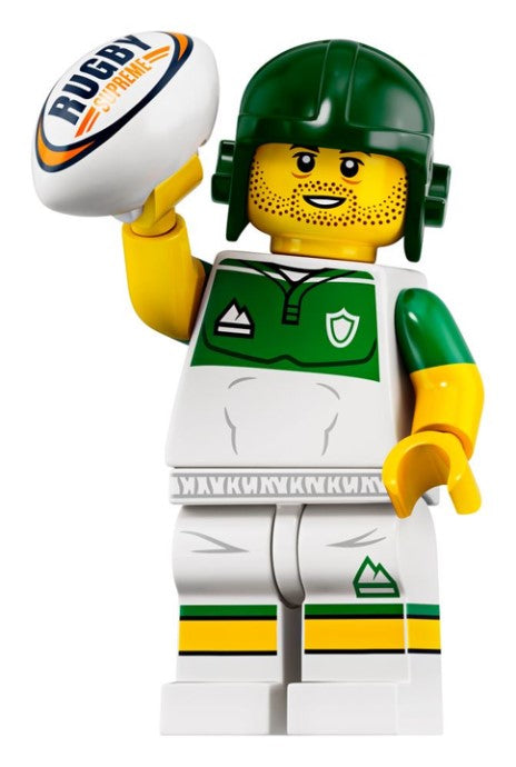 Rugby Player - Series 19 LEGO Minifigure (2019)