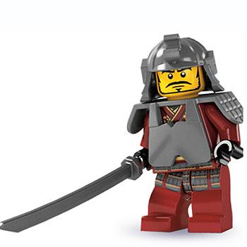 Samurai Warrior - Series 3 LEGO Minifigure (2011)