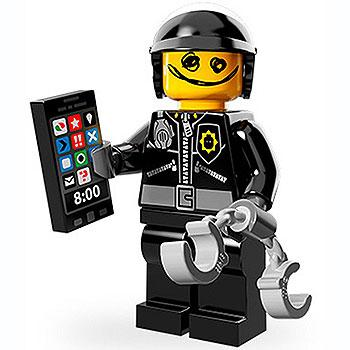 Scribble-Face Bad Cop - Series 1 The LEGO Movie Minifigure (2014)