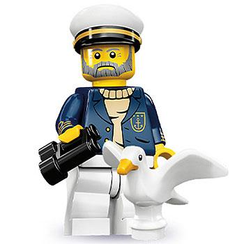Sea Captain - Series 10 LEGO Minifigure (2013)