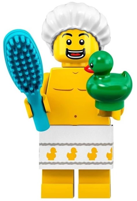 Shower Guy - Series 19 LEGO Minifigure (2019)