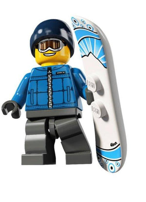 Snowboarder (Male) - Series 5 LEGO Minifigure (2011)