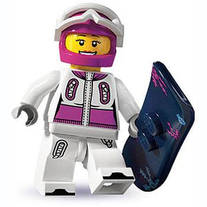 Snowboarder - Series 3 LEGO Minifigure (2011)