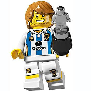Soccer Player - Series 4 LEGO Minifigure (2011)
