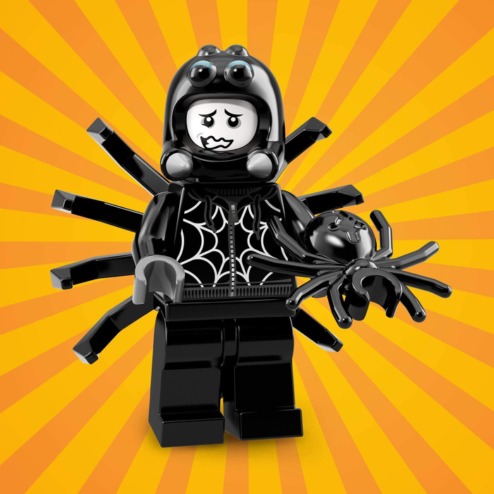 Spider Suit Boy - Series 18 LEGO Minifigure (2018)