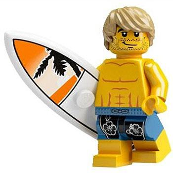 Surfer - Series 2 LEGO Minifigure (2010)