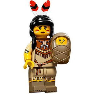 Tribal Woman - Series 15 LEGO Minifigure (2016)
