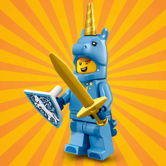 Unicorn Guy - Series 18 LEGO Minifigure (2018)