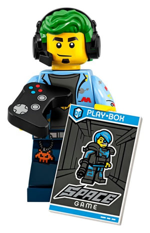 Video Game Champ - Series 19 LEGO Minifigure (2019)