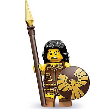 Warrior Woman - Series 10 LEGO Minifigure (2013)