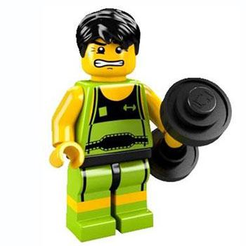 Weightlifter - Series 2 LEGO Minifigure (2010)