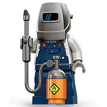 Welder - Series 11 LEGO Minifigure (2013)
