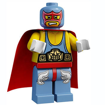 Super Wrestler - Series 1 LEGO Minifigure