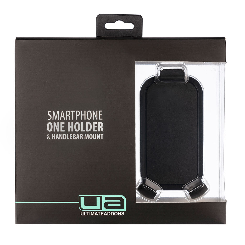 One Box Smartphone Holder with Handlebar Mount - Ultimateaddons