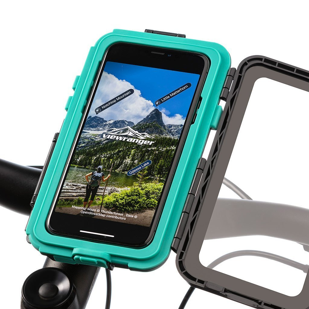 Helix Swivel Strap Mount with Water Resistant Tough Mount Case for iPhone X - Ultimateaddons