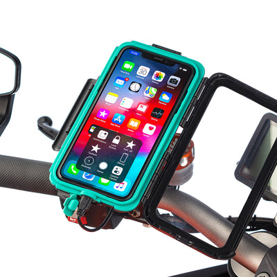 Strong Motorcycle Mirror Mounting Tough Case Kits for iPhone Xs Max - Ultimateaddons