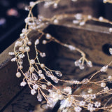 1 meter long millet hair vine, bridal hairpiece