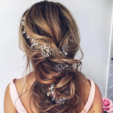 Bridal Hair Vine Extra Long Hair Vine Wedding Hair Wreath Bridal Headpiece Wedding Headpiece Bridal Pearl Vine Bridal Jewellery gift