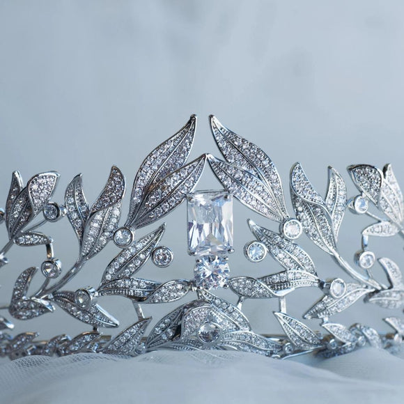 Luxury Royal Wedding Crown tiara, rhinestone wedding tiara crown, best crown for your big day QUEEN CROWN