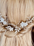 bridal hairpiece,back comb accessory for wedding