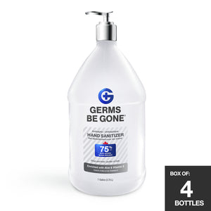 4-Pack - 75% Germs Be Gone - 3.78L (1 Gallon)