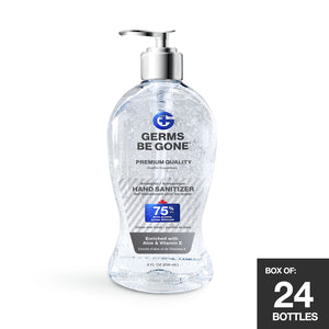 24-Pack - 75% Germs Be Gone - 236ml (8oz)