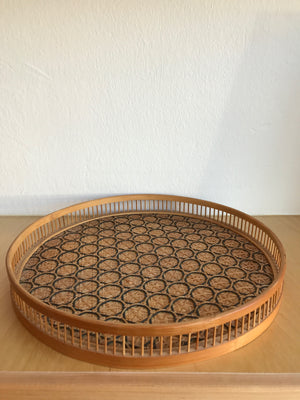 Vintage Light Straw Bowl