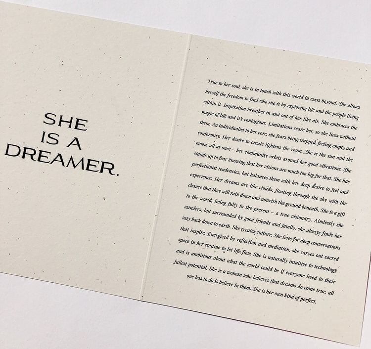 Wilde House Paper - The Dreamer Card