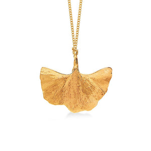 Zaza Culture - Ancient Gingko Leaf Necklace