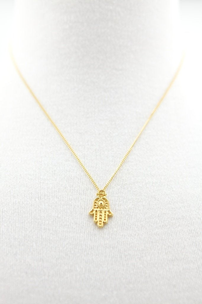 Zaza Culture - Hamsa Hand Necklace