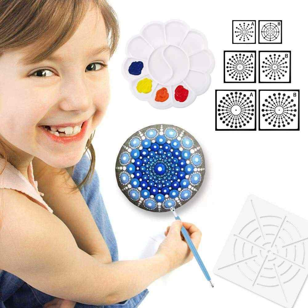 Mandala Dot Painting Templates Stencils for DIY Painting