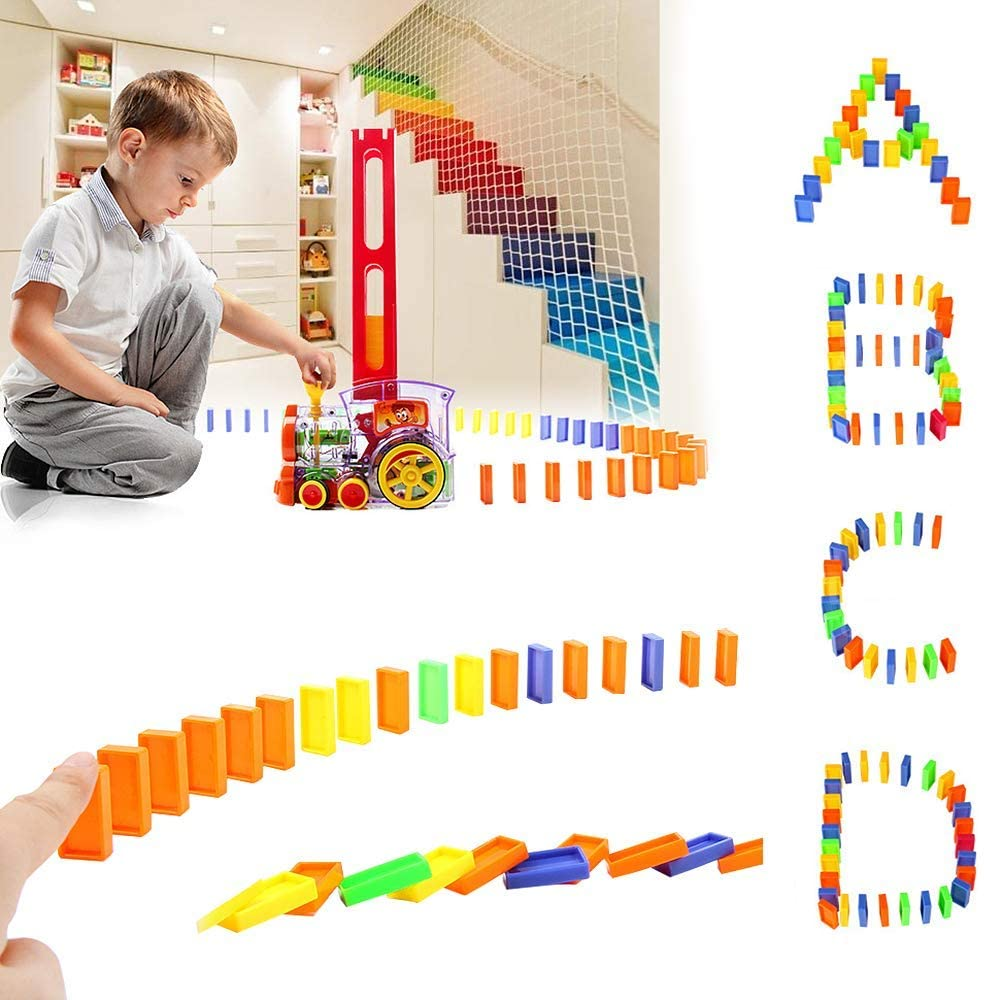 Automatic Domino Train