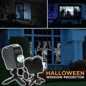 🎃Halloween Pre--Halloween Holographic Projection!