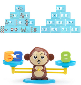 Monkey Balance-math genius