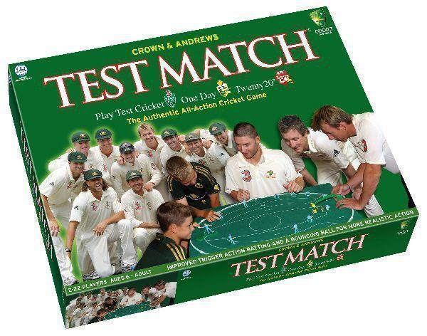 The legendary 3D cricket table-top game