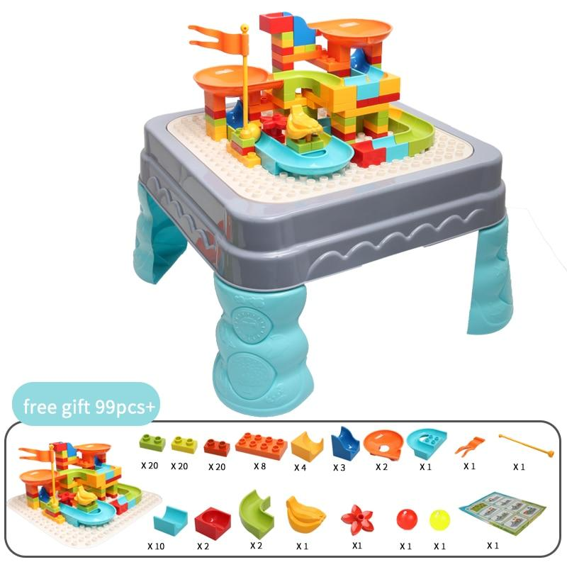 Multifunctional building blocks tables bricks blocks