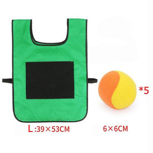 Vest sticky jersey throw ball vest