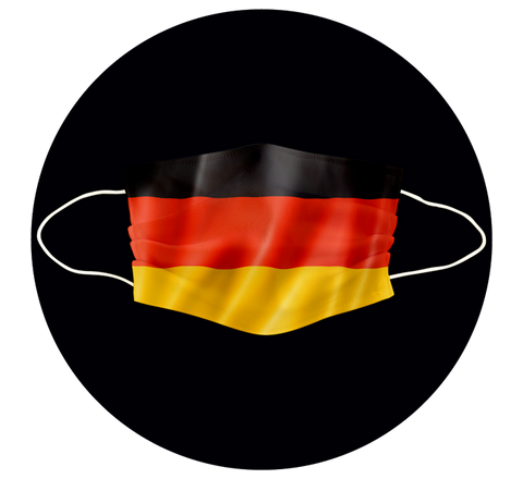 GERMANY FLAG - 3 LAYER CLOTH MASK