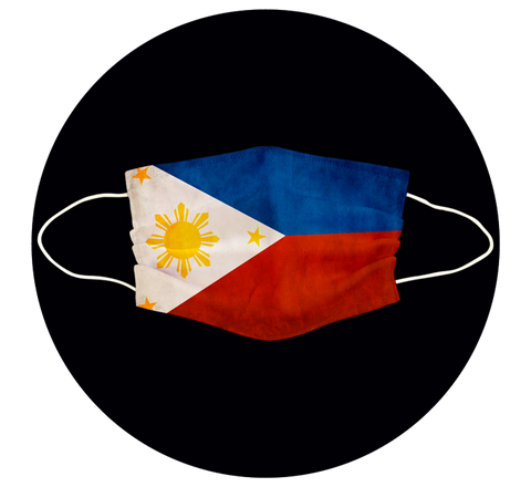 PHILIPPINES FLAG - 3 LAYER CLOTH MASK
