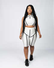 The Reflector Two-Piece - Sliver