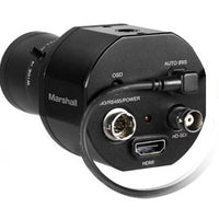Marshall CV345-CSB Full-HD (3G/HD-SDI) 2.5MP Compact Broadcast Camera with AUDIO SDI / HDMI